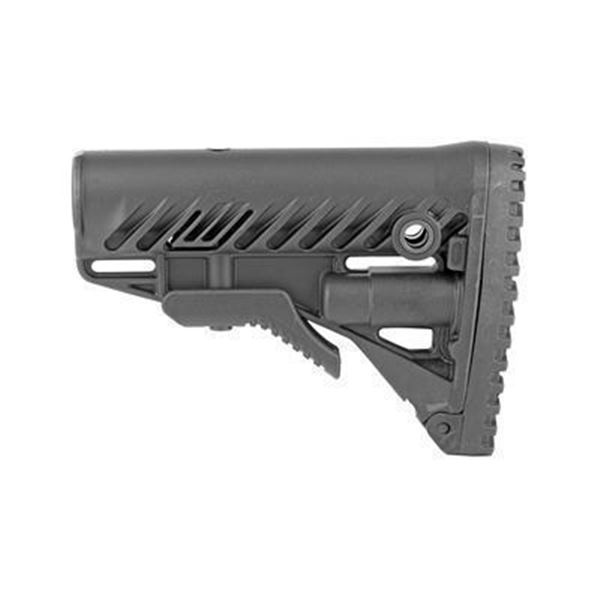 FAB DEF AR15 STOCK COMPART BLK