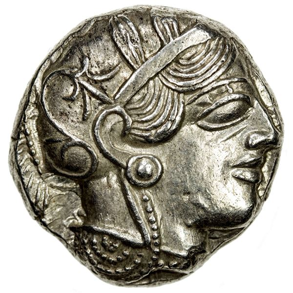ATHENS: AR tetradrachm (17.26g), ca. 440-404 BC. EF-AU