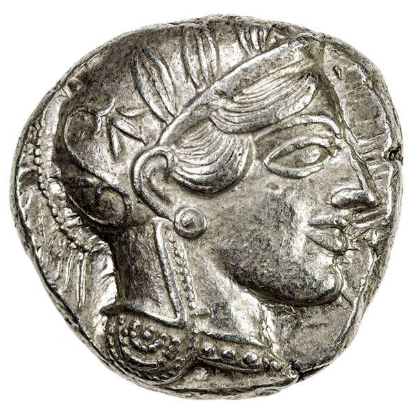 ATHENS: AR tetradrachm (17.24g), ca. 440-404 BC. EF