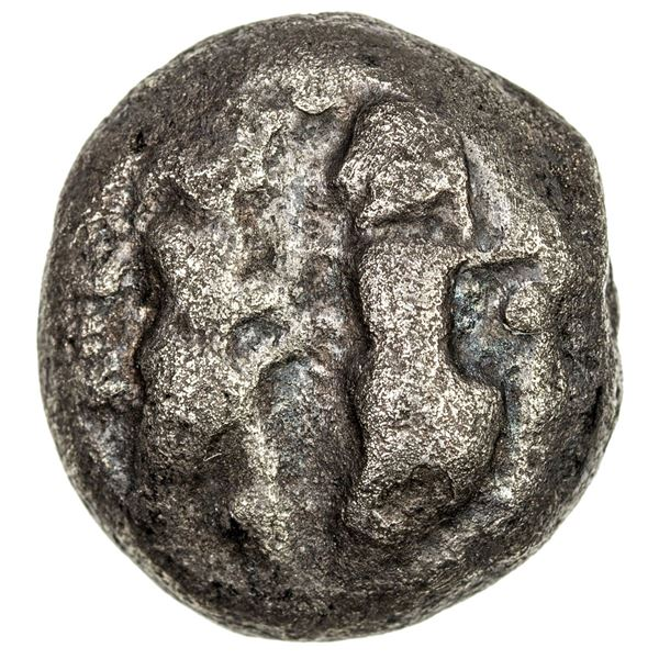 MACEDONIAN CITIES: AR stater (8.14g), Siris, ca. 530-480 BC. VG-F