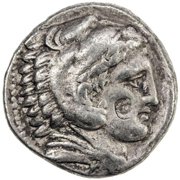 MACEDONIAN KINGDOM: Philip III Arrhidaios, 323-317 BC, AR tetradrachm (16.89g), Amphipolis, ca. 322-