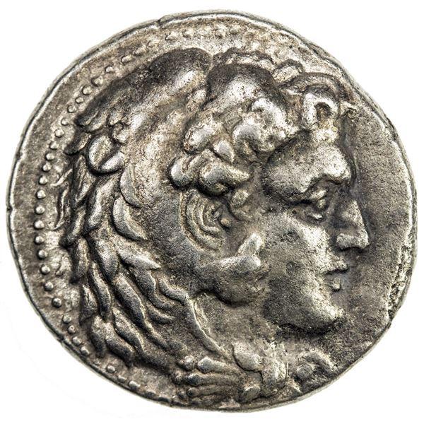 MACEDONIAN KINGDOM: Philip III Arrhidaios, 323-317 BC, AR tetradrachm (16.56g), Babylon. F-VF