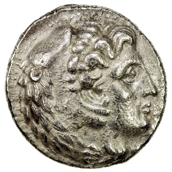 MACEDONIAN KINGDOM: Philip III Arrhidaios, 323-317 BC, AR tetradrachm (16.33g), Susa, ca. 322-320 BC