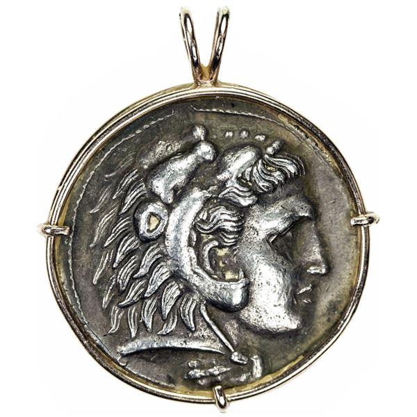 MACEDONIAN KINGDOM: Demetrios I Poliorketes, 306-283 BC, AR tetradrachm, Salamis (Cyprus), ca. 306-3