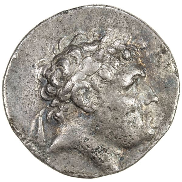 PERGAMENE KINGDOM: Attalos I, Soter, 241-197 BC, AR tetradrachm (16.65g). VF