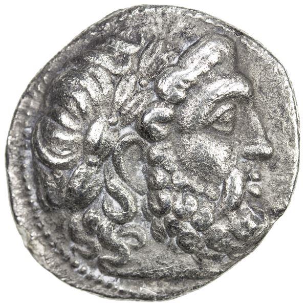 SELEUKID KINGDOM: Seleukos I Nikator, 312-281 BC, AR tetradrachm (15.92g), Seleukeia on the Tigris I