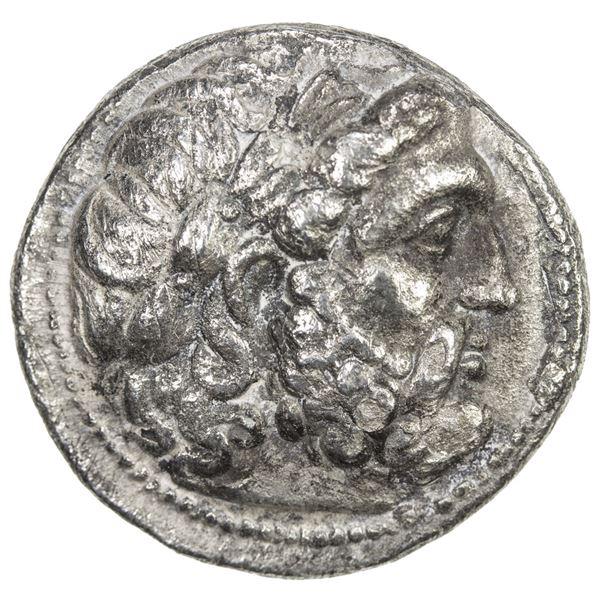 SELEUKID KINGDOM: Seleukos I Nikator, 312-281 BC, AR tetradrachm (15.94g), Seleukeia on the Tigris I