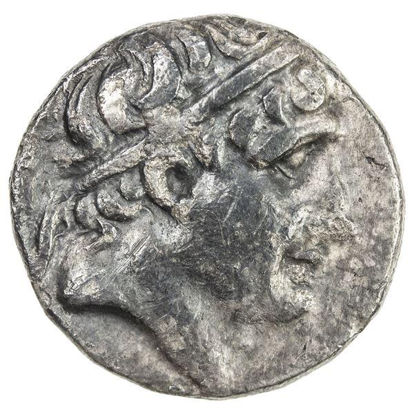 SELEUKID KINGDOM: Antiochos I Soter, 281-261 BC, AR drachm (3.81g), Ai Khanoum, ca. 280-271 BC. VF