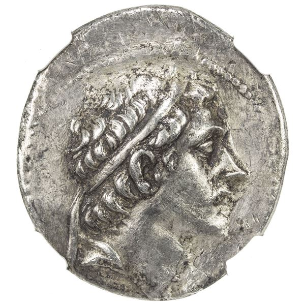 SELEUKID KINGDOM: Antiochos III, the Great, 222-187 BC, AR tetradrachm (16.57g), Soli (Pompeiopolis)