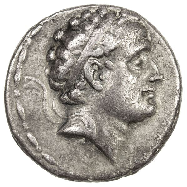 SELEUKID KINGDOM: Seleukos IV Philopator, 187-175 BC, AR tetradrachm (16.69g), Antioch on the Oronte