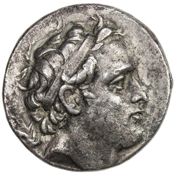 SELEUKID KINGDOM: Seleukos IV Philopator, 187-175 BC, AR tetradrachm (16.11g), Seleukeia on the Tigr