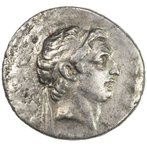 SELEUKID KINGDOM: Demetrios I Soter, 162-150 BC, AR tetradrachm (16.18g), Antioch on the Orontes, ca