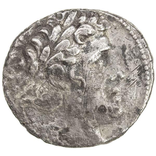 TYRE: AR shekel (13.67g), CY 11 (116/5 BC). VF