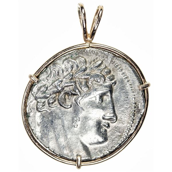 TYRE: AR 1/2 shekel, CY 49 (78/7 BC). VF
