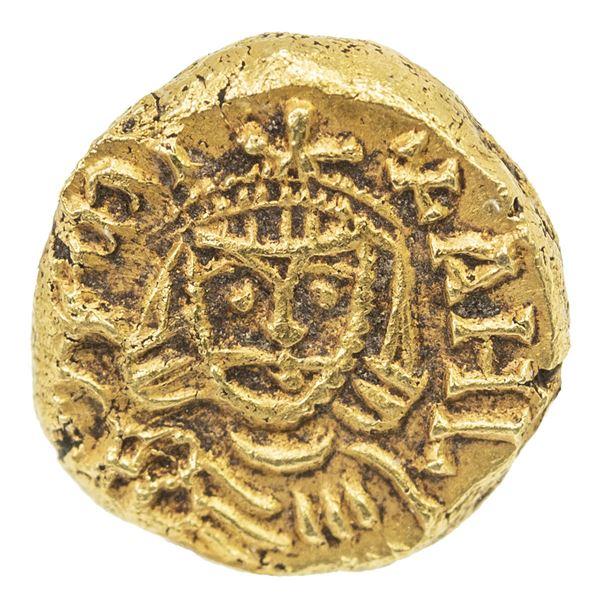 BYZANTINE EMPIRE: Michael II, the Amorian, 820-829, AV solidus (3.87g), Syracuse. NGC AU