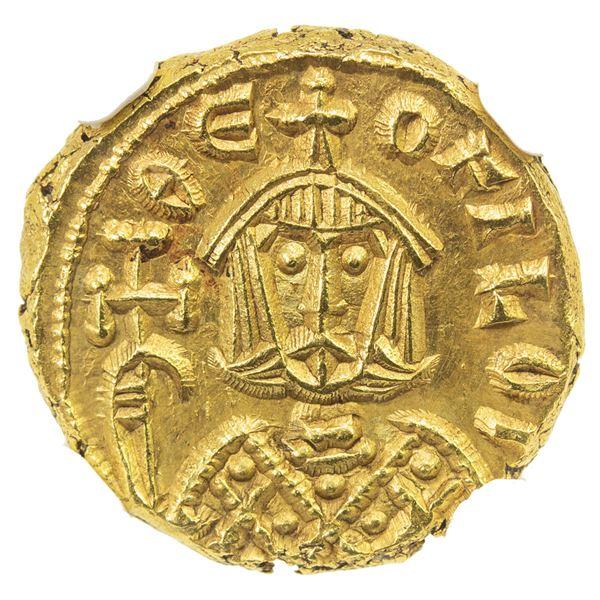 BYZANTINE EMPIRE: Theophilus, 829-842, AV solidus (3.87g), Syracuse. NGC MS