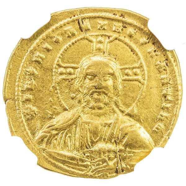 BYZANTINE EMPIRE: Basil II Bulgarochtonus, 976-1025, AV histamenon nomisma (4.20g), Constantinople.
