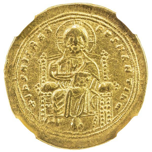 BYZANTINE EMPIRE: Romanus III Argyrus, 1028-1034, AV histamenon nomisma (4.37g), Constantinople. NGC