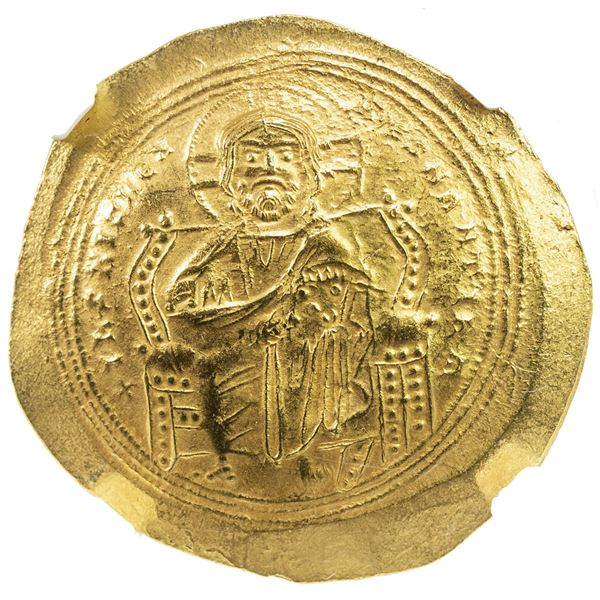 BYZANTINE EMPIRE: Constantine IX Monomachus, 1042-1055, AV histamenon nomisma (4.40g), Constantinopl