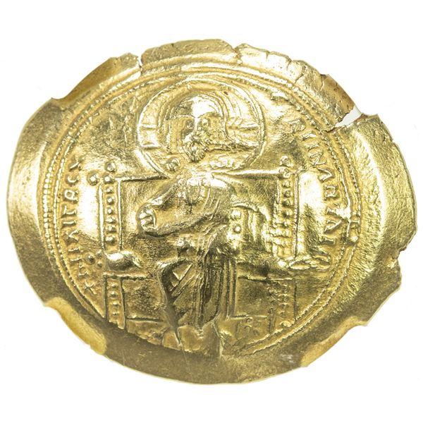 BYZANTINE EMPIRE: Constantine X Ducas, 1059-1067, AV histamenon nomisma (4.40g), Constantinople. NGC