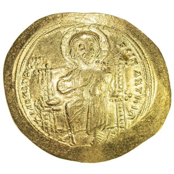 BYZANTINE EMPIRE: Constantine X Ducas, 1059-1067, AV histamenon (4.40g). EF