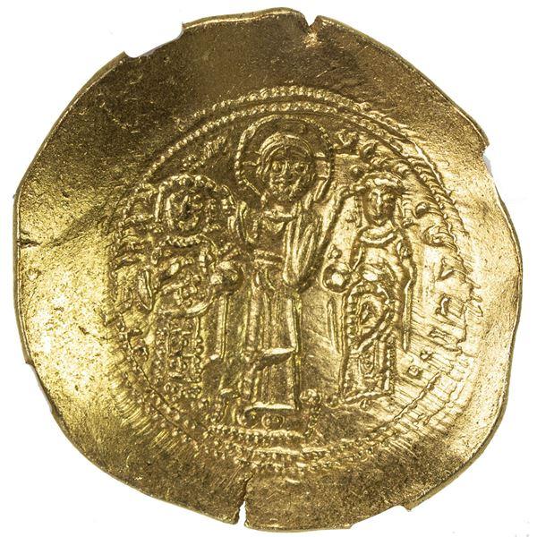 BYZANTINE EMPIRE: Romanus IV Diogenes, 1068-1071, EL histamenon nomisma (4.43g), Constantinople. NGC