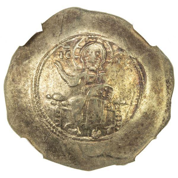 BYZANTINE EMPIRE: Nicephorus III Botaniates, 1078-1081, EL histamenon nomisma (4.36g), Constantinopl
