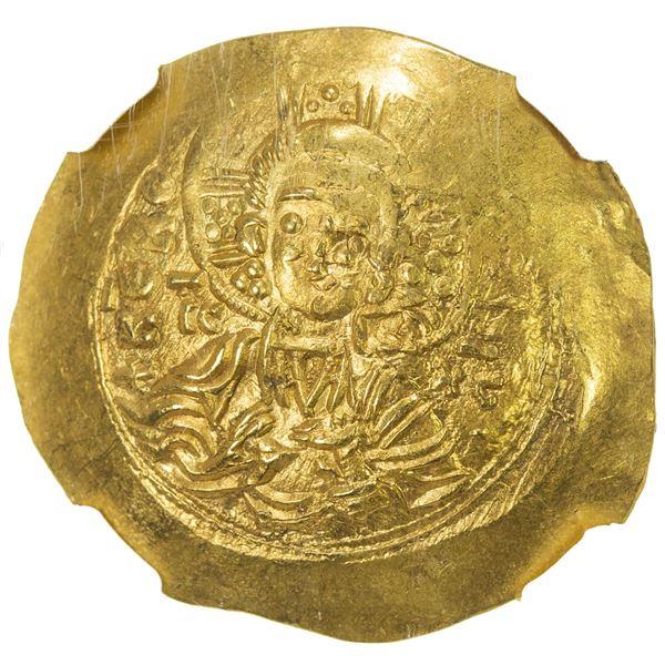 BYZANTINE EMPIRE: Manuel I Comnenus, 1143-1180, AV hyperpyron (4.33g), Constantinople. NGC MS