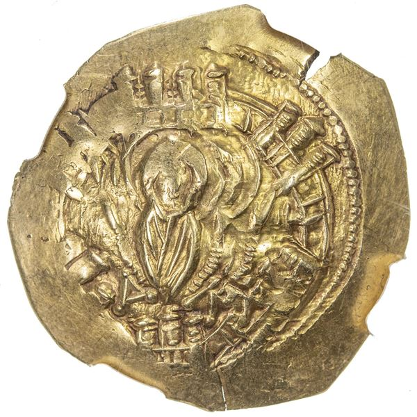 BYZANTINE EMPIRE: Michael VIII Palaeologus, 1261-1282, AV/EL hyperpyron (4.08g), Constantinople. NGC