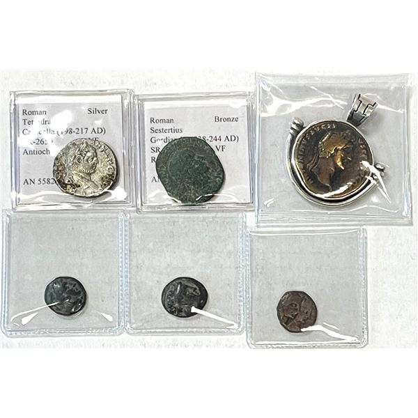 ANCIENT: LOT of 6 coins