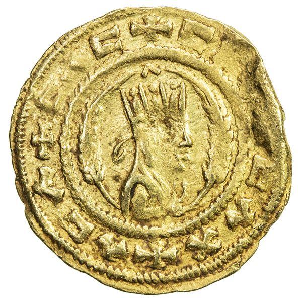 AXUM: Ebana, 5th century, AV unit (1.62g), M& J-71, VF