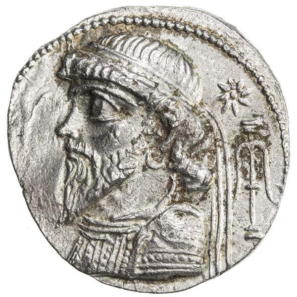 ELYMAIS: Kamnaskires V, ca. 54/3-33/2 BC, AR tetradrachm (13.08g), Seleukeia on the Hedyphon, SE 269