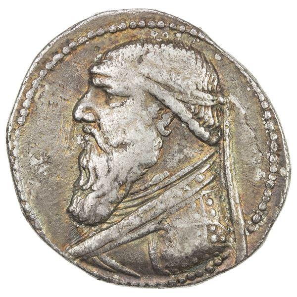 PARTHIAN KINGDOM: Mithradates II, c. 123-88 BC, AR tetradrachm (15.04g). VF