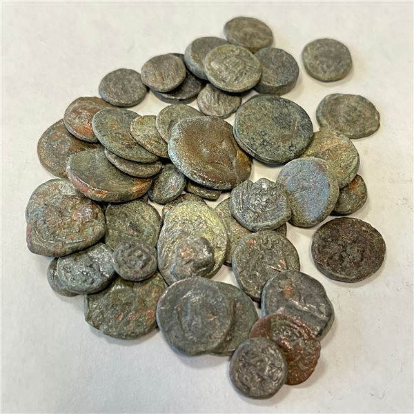 PARTHIAN KINGDOM: LOT of 127 bronzes, featuring a variety of rulers and types