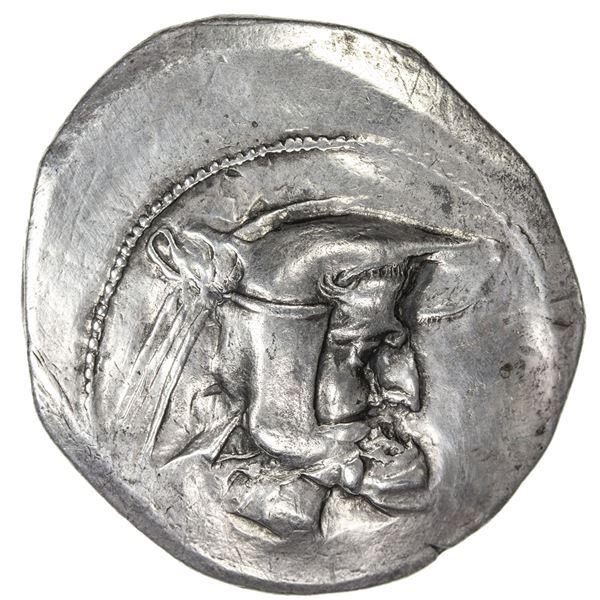 PERSIS KINGDOM: Vadfradad I (Autophradates), 3rd century BC, AR tetradrachm. VF