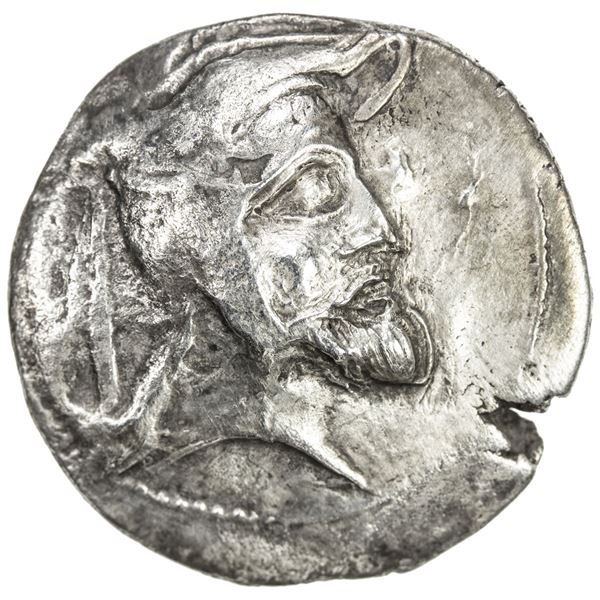 PERSIS KINGDOM: Vadfradad I (Autophradates), 3rd century BC, AR tetradrachm (16.18g). VF