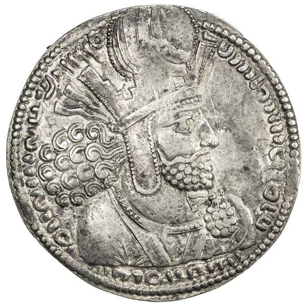 SASANIAN KINGDOM: Shahpur I, 241-272, AR drachm (4.31g). VF