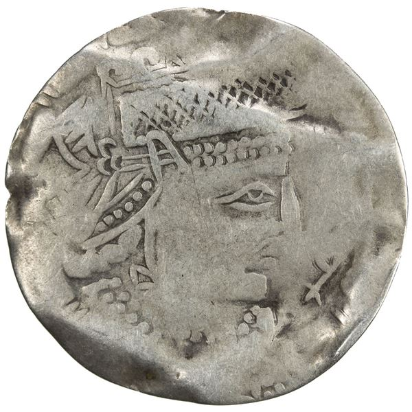 AFRIGHID: Ja'far [b. Muhammad], ca. late 830's, AR drachm (2.07g), NM, ND. F