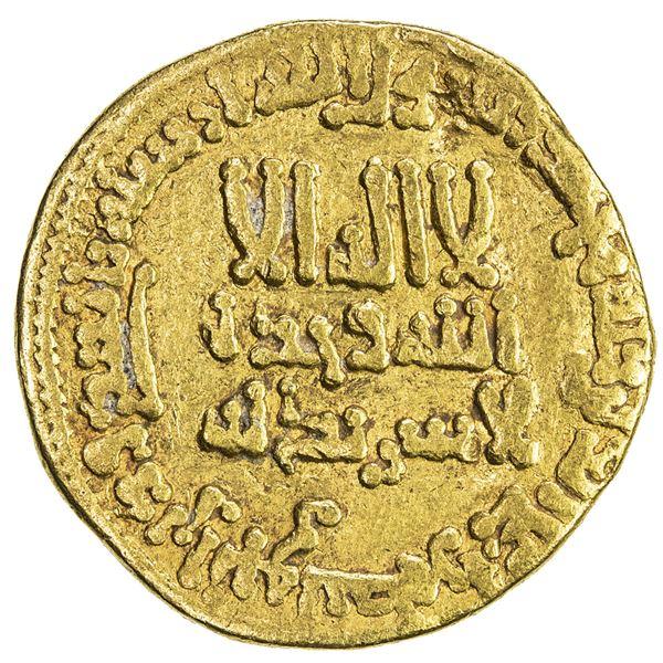 ABBASID: al-Rashid, 786-809, AV dinar (4.12g), NM (Misr), AH184. F-VF