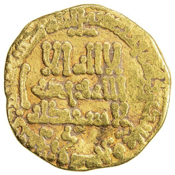 ABBASID: al-Rashid, 786-809, AV dinar (4.08g), NM, AH181. VG-F