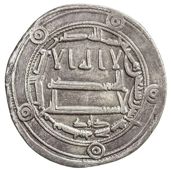 ABBASID: al-Rashid, 786-809, AR dirham (2.88g), Jayy, AH172. VF