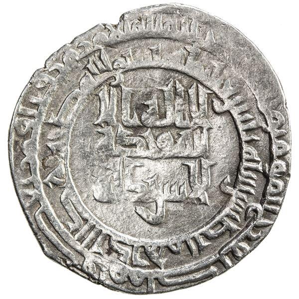 ABBASID: al-Muttaqi, 940-944, AR dirham (2.70g), Nasibin, AH330. VF