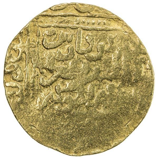 HAFSID: Abu Faris 'Abd al-'Aziz II, 1394-1434, AV 1/2 dinar (2.36g), NM, ND. G