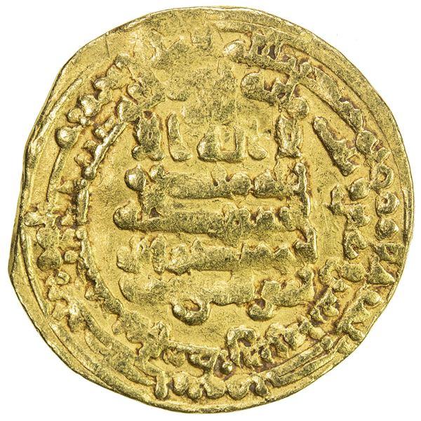 IKHSHIDID: Muhammad, 935-946, AV dinar (4.20g), Filastin, AH332. F