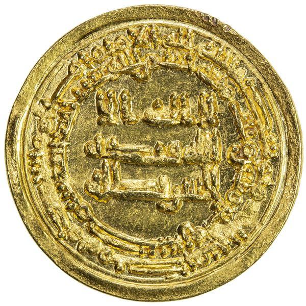 IKHSHIDID: Abu'l-Qasim, 946-961, AV dinar (4.09g), Misr, AH337. UNC