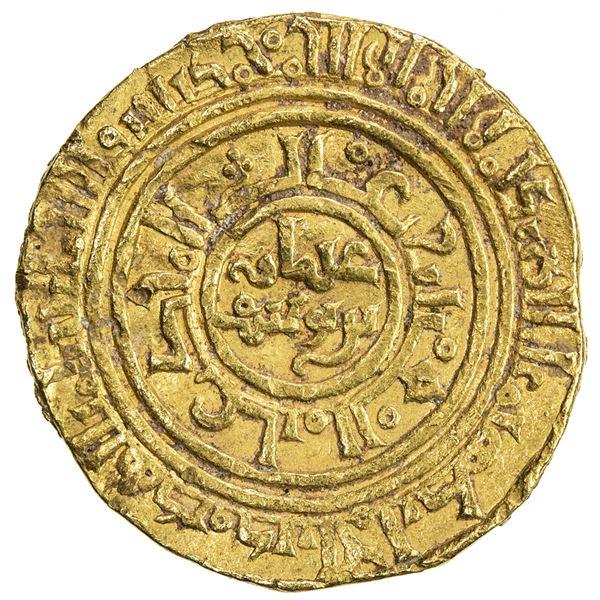 AYYUBID: 'Uthman, 1193-1198, AV dinar (3.85g), al-Iskandariya, AH590. VF