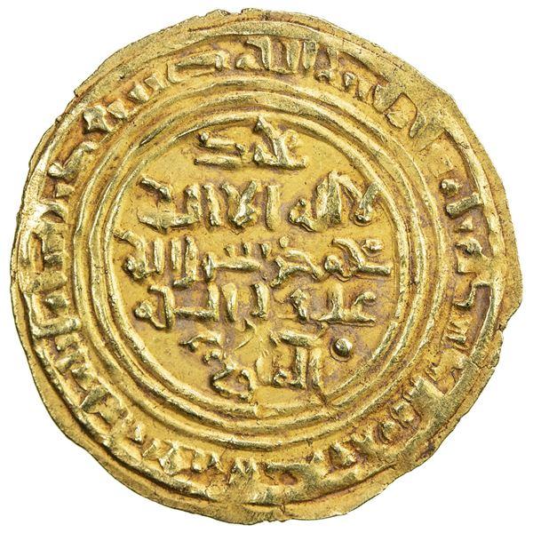 ZURAY'ID: Muhammad b. Saba', 1139-1155, AV dinar (2.38g), 'Adan, AH543. VF-EF