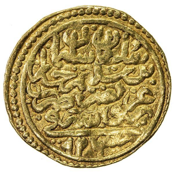 OTTOMAN EMPIRE: Suleyman I, 1520-1566, AV sultani (3.47g), Bursa, AH926. F