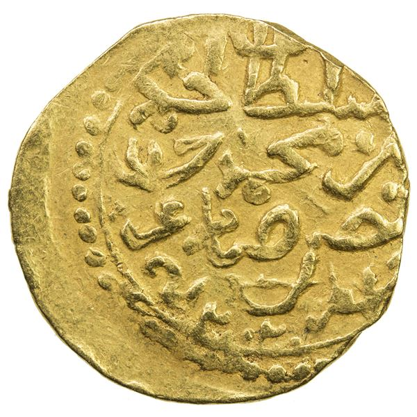 "OTTOMAN EMPIRE: Ahmed I, 1603-1617, AV sultani (3.47g), Jaza'ir, AH""2002"". VF"