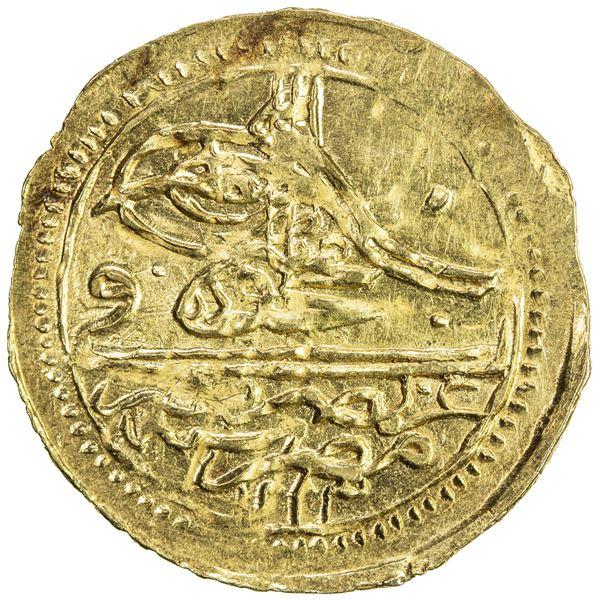 EGYPT: Mahmud II, 1808-1839, AV zeri mahbub (2.37g), Misr, AH1223 year 1. AU